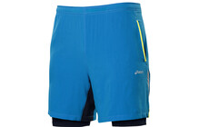 Asics Men's 2in1 Short 9 Zoll surfe blue